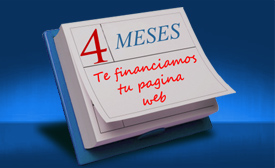 paginas web financiamiento